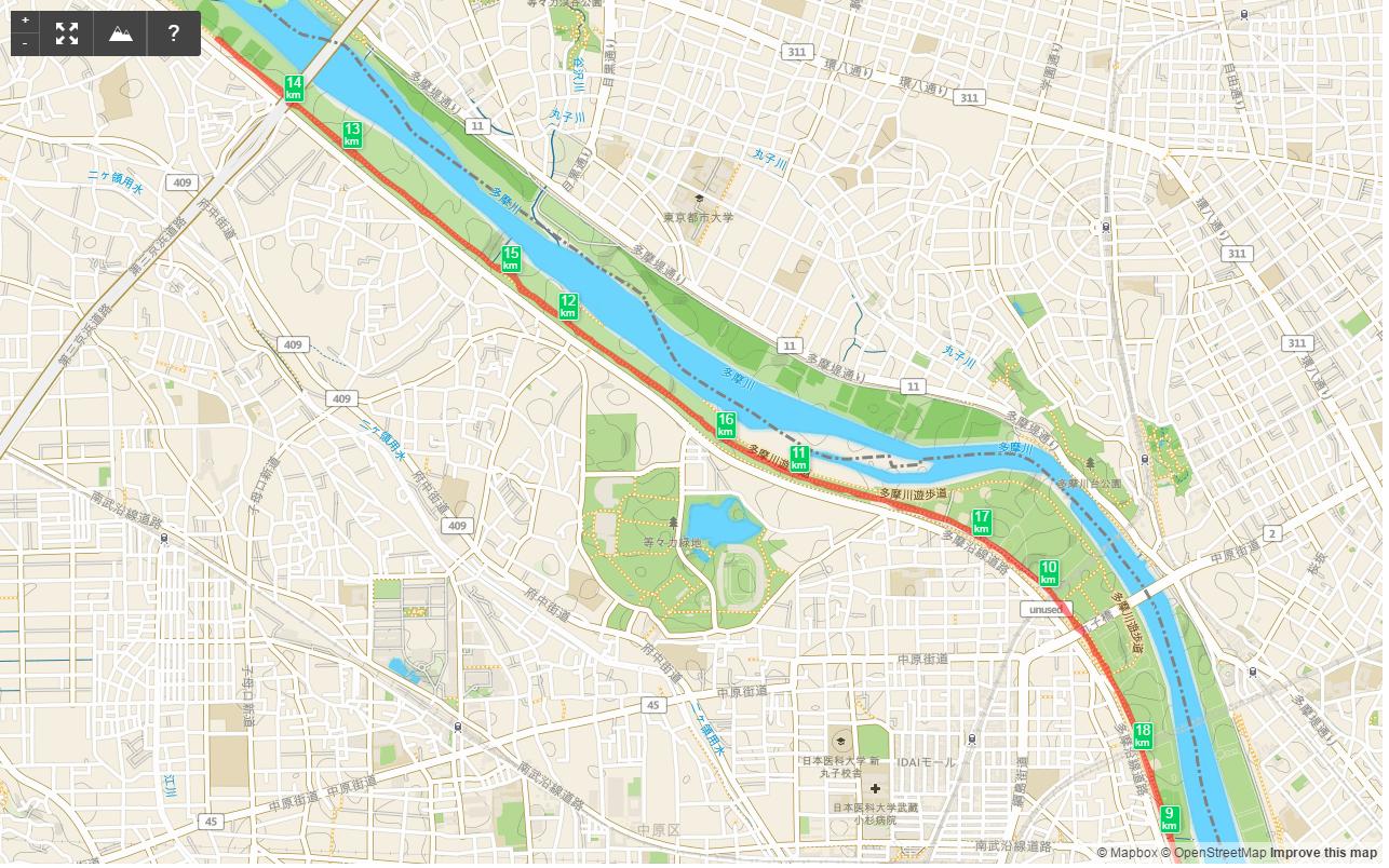 多摩川HM9km-13.5km