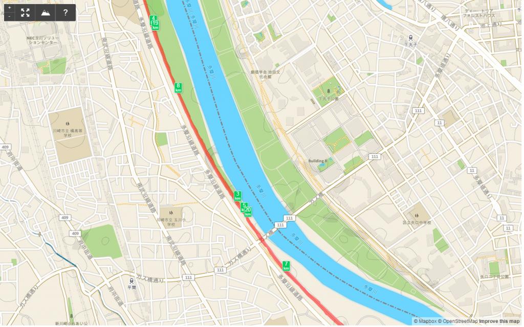 多摩川HM4km-6km