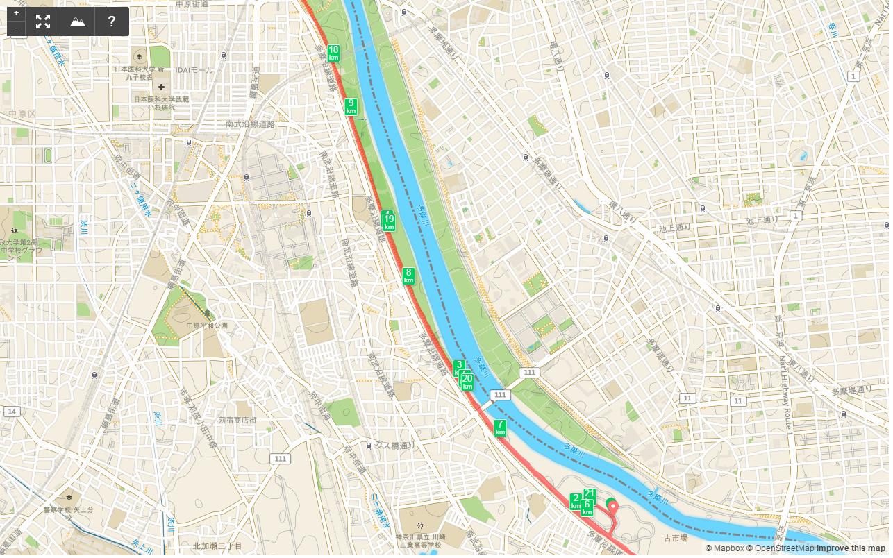 多摩川HM6km-9km